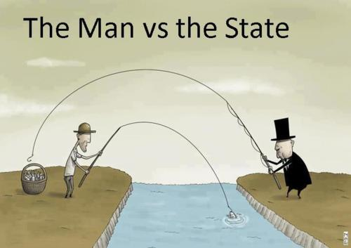 The Man vs. the State