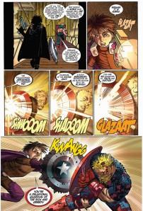 Captain America panel
