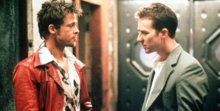 Fight Club movie image Brad Pitt