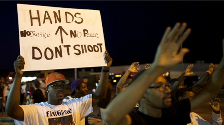 Ferguson Protests Turn Violent After Michael Brown Shooting