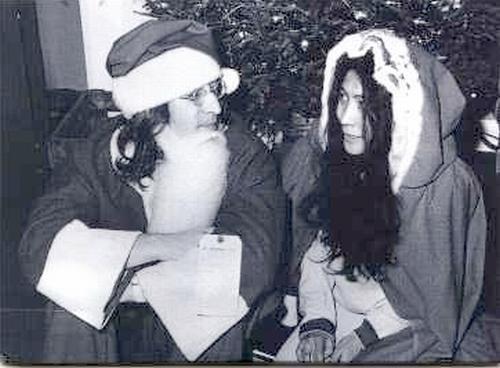 my top ten plus one list of christmas songs - John Lennon Christmas Songs