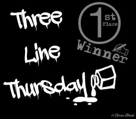 Three Line Thursday winner