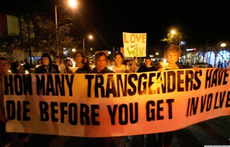 Members of the Gay, Lesbian and Transgen