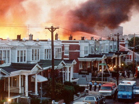 The MOVE fire of 1985 killed 11, including five children, and destroyed 61 homes.
