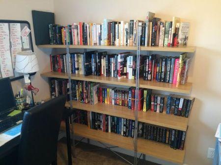 First shelf