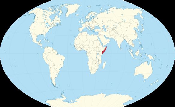 World Map Somolia.Anarchism In Somalia Brett Milam