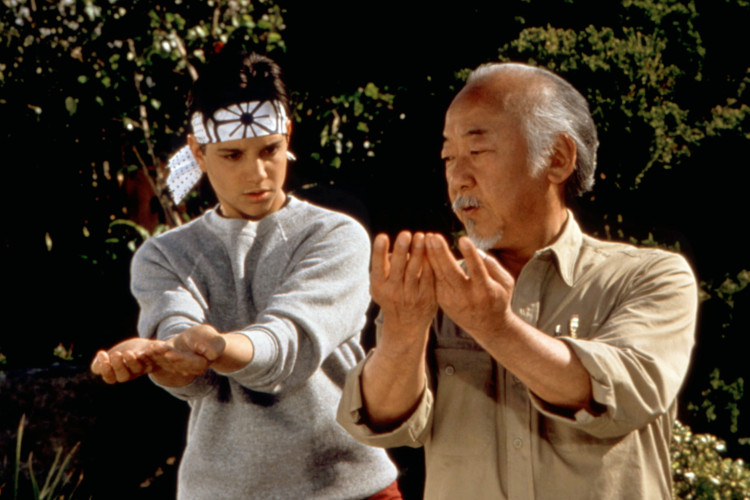 THE KARATE KID III, Ralph Macchio, Pat Morita, 1989, (c)Columbia Pictures/courtesy Everett Collectio